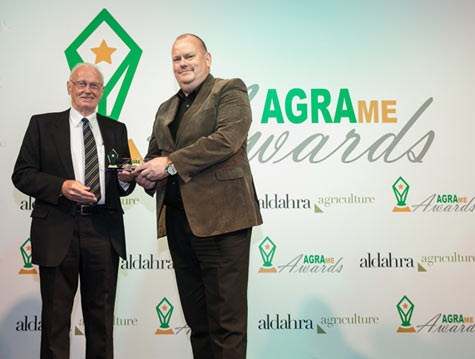 Marel's AeroScalder wins the AGRAme award for the Best New Poultry Product for the Gulf Market