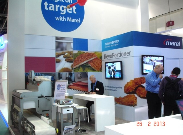 Marel's stand at the Gulfood Exhibition in Dubai attracts steady stream of visitors from all around the world