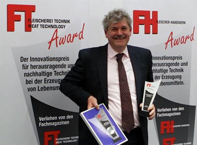 Marel's ModularOven 700 wins the Meat Technology Awards 2013 at the IFFA exhibition